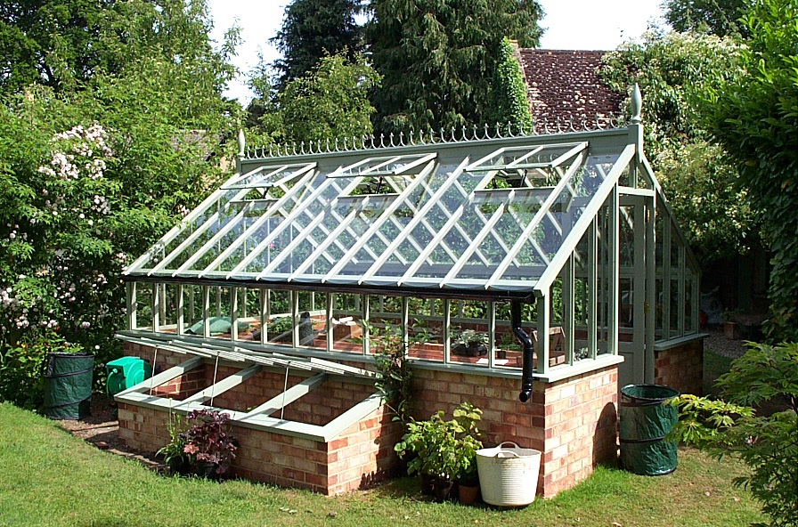 Timber Victorian Greenhouse Gallery