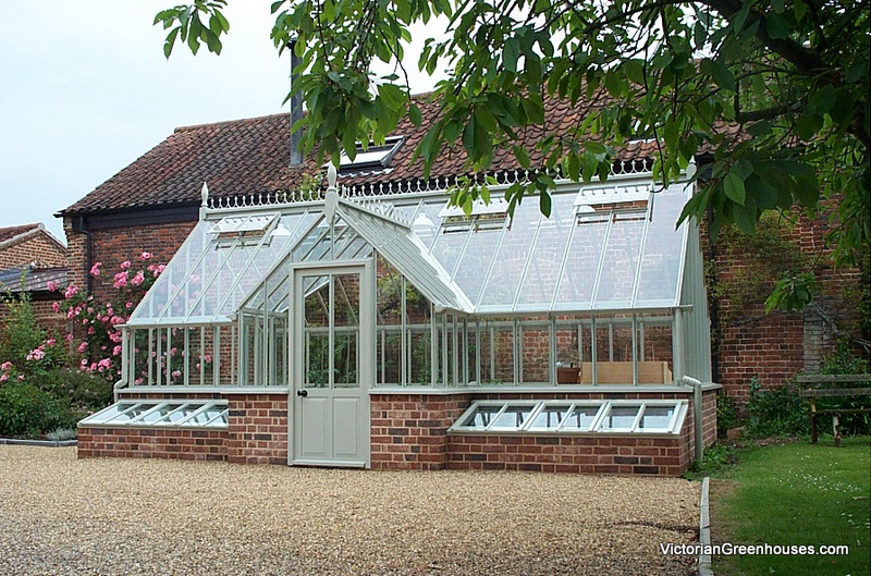 Victorian greenhouses with porch gallery for Victorian style greenhouse