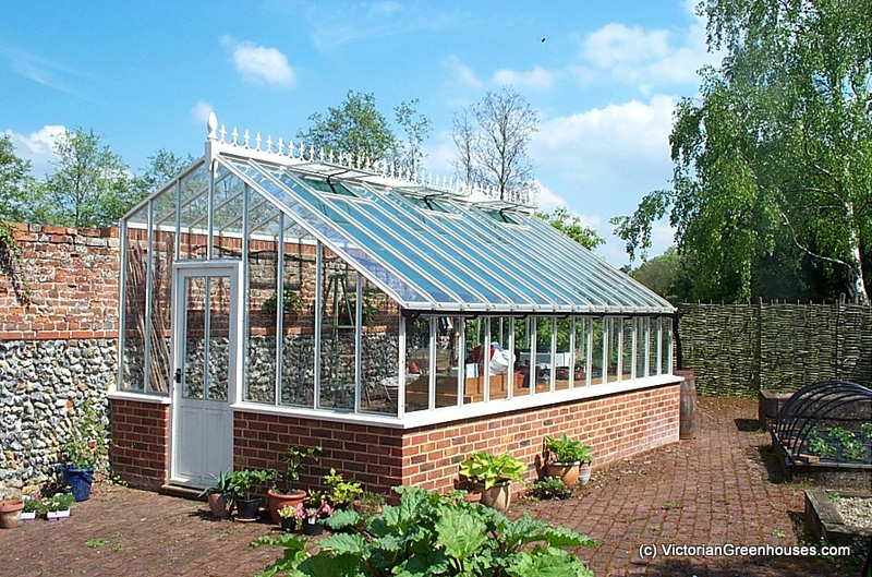 3 4 Span Victorian Greenhouses: greenhouse styles